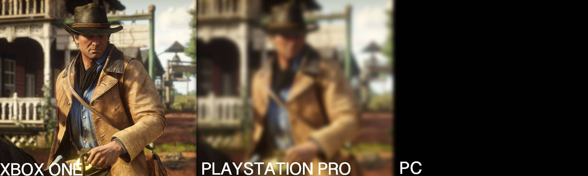 Rdr2 graphics blurry PS4 Pro - Page 11 - Red Dead Redemption 2