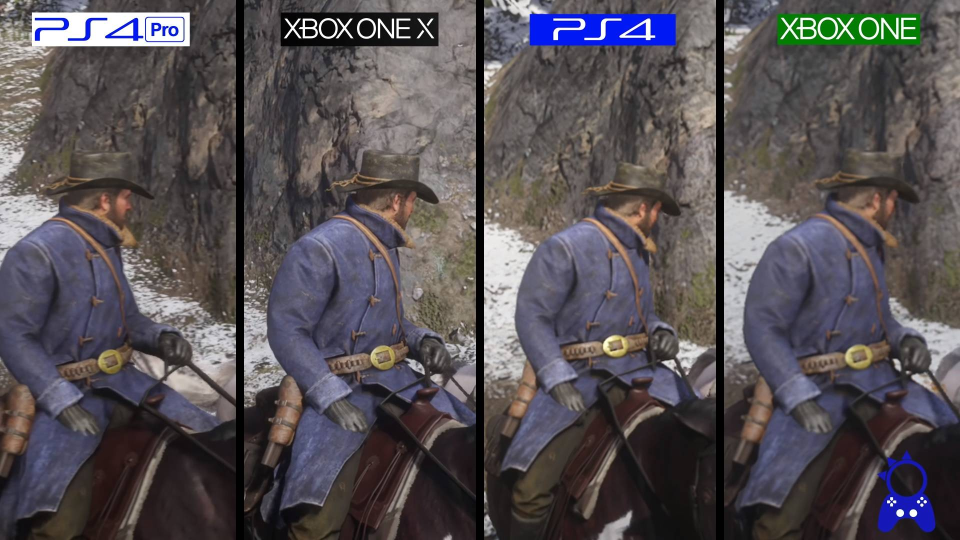 Rdr2 graphics blurry PS4 Pro - Page 45 - Red Dead Redemption