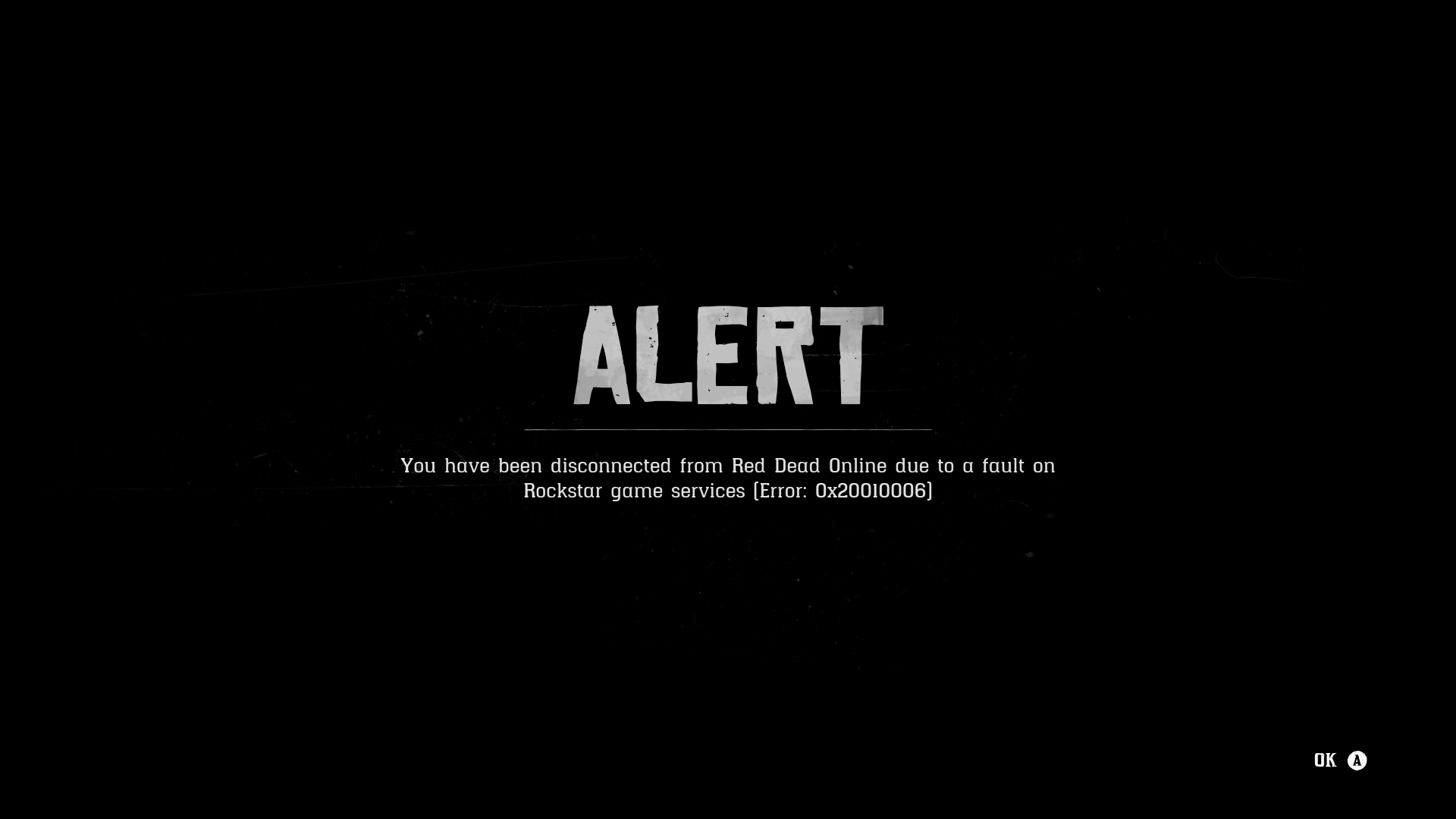 Server Disconnects from Rockstar - Red Dead Online - RDR2