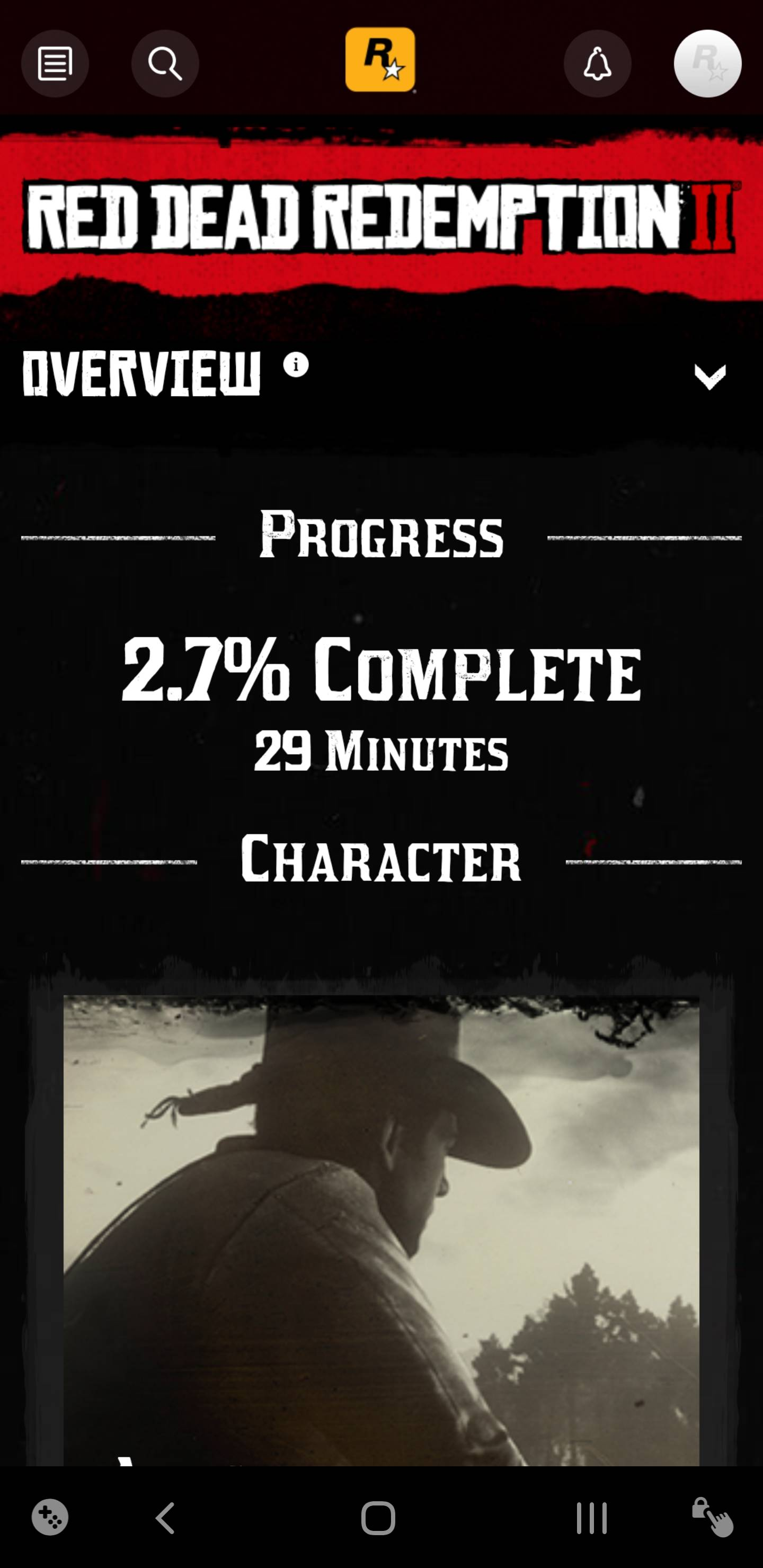 How can I tell what my total playtime is? - Red Dead Redemption 2