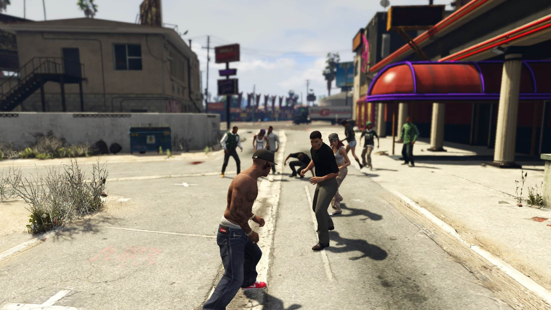 free games like gta for ps4