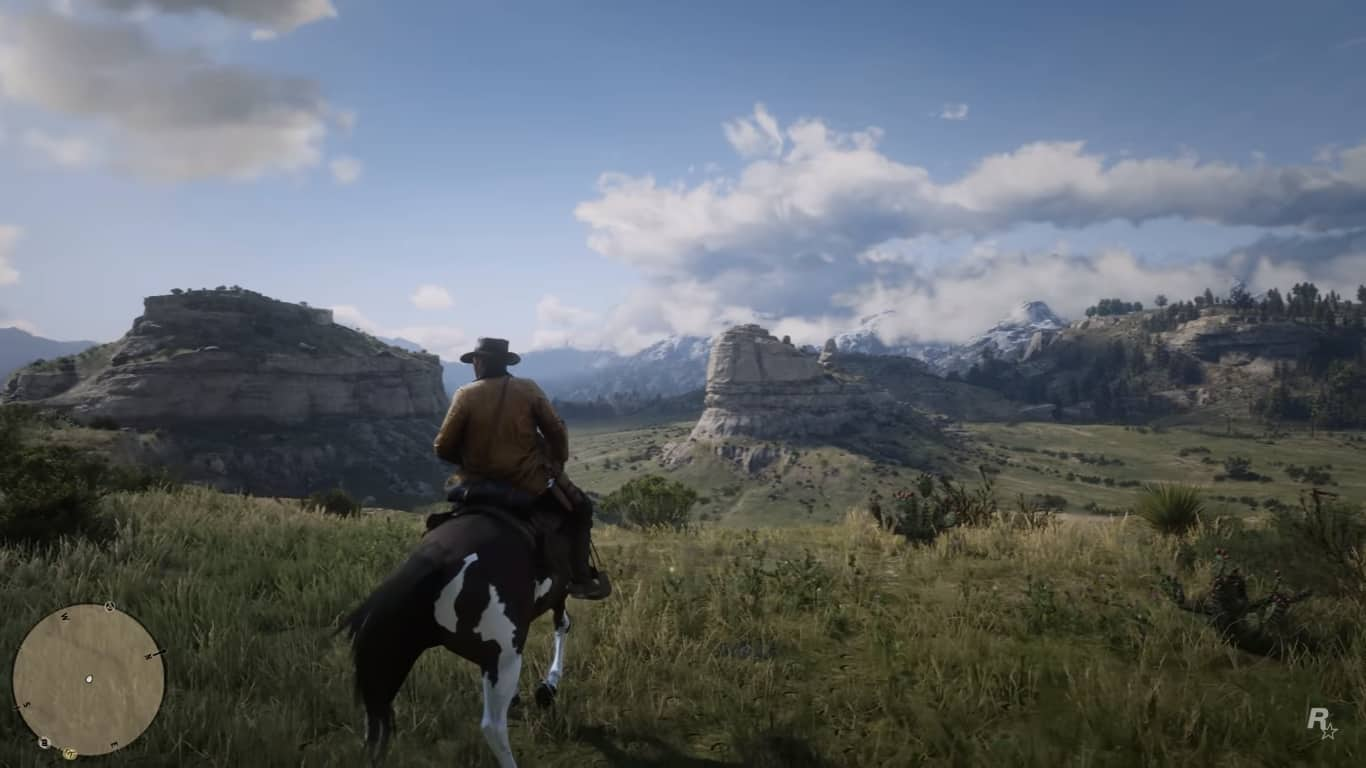 Red Dead 2 World Map.Could Red Dead Redemption 2 Feature The Biggest Map In A Rockstar