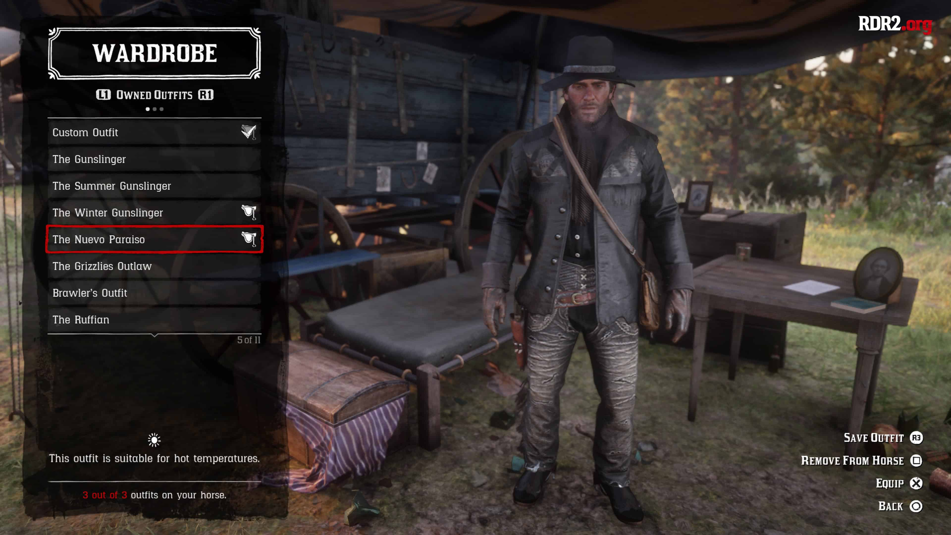 red dead redemption 2 ultimate edition bonus outfits