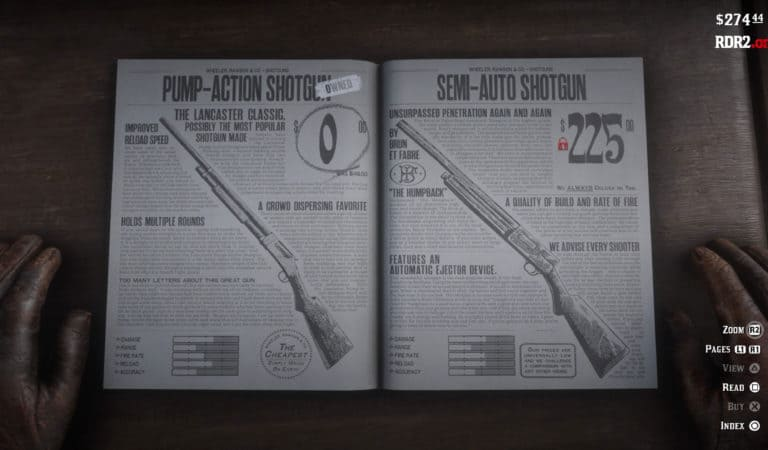 Red Dead Redemption 2 Rare Weapons Guide