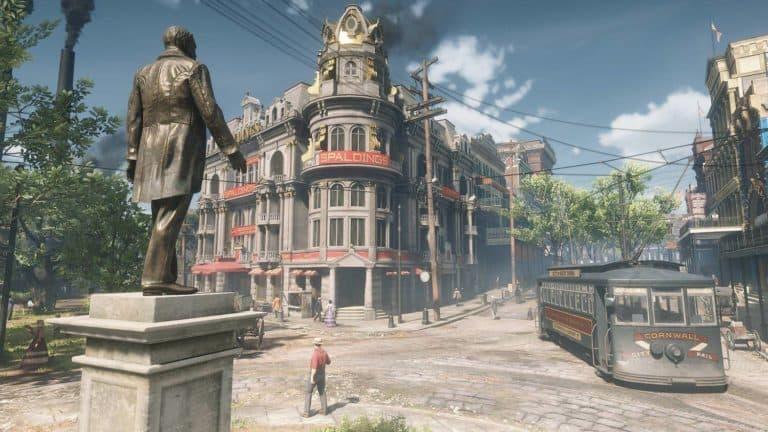 Red Dead Redemption 2 Saint Denis Hotel