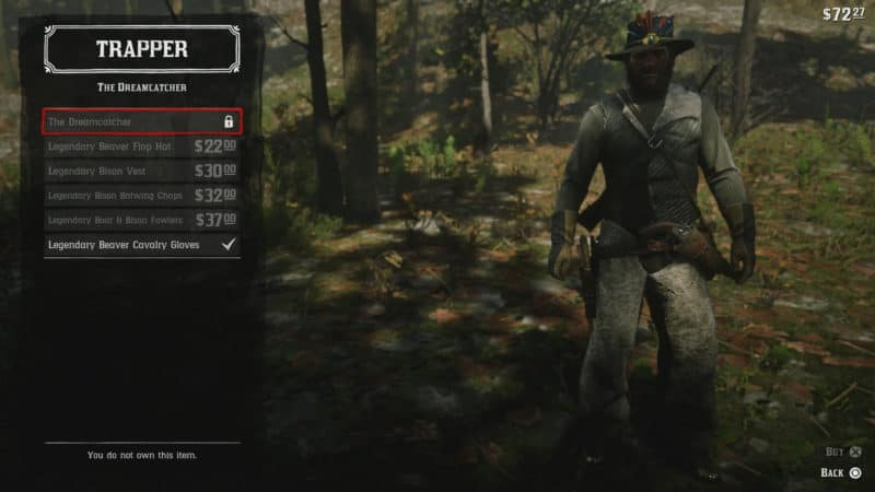 Red Dead Redemption 2 Trapper Crafting, Materials Guide