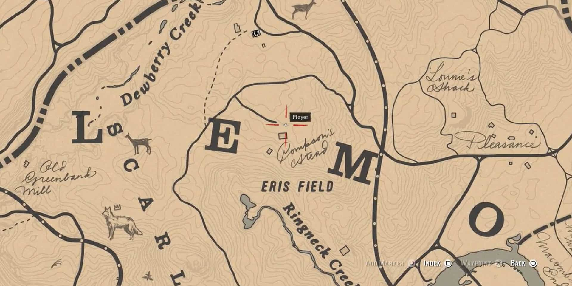 Rdr2 Aberdeen Pig Farm Grave Location Home Collection