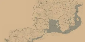 RDR2 Map